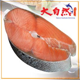 薄鹽鮭魚切片