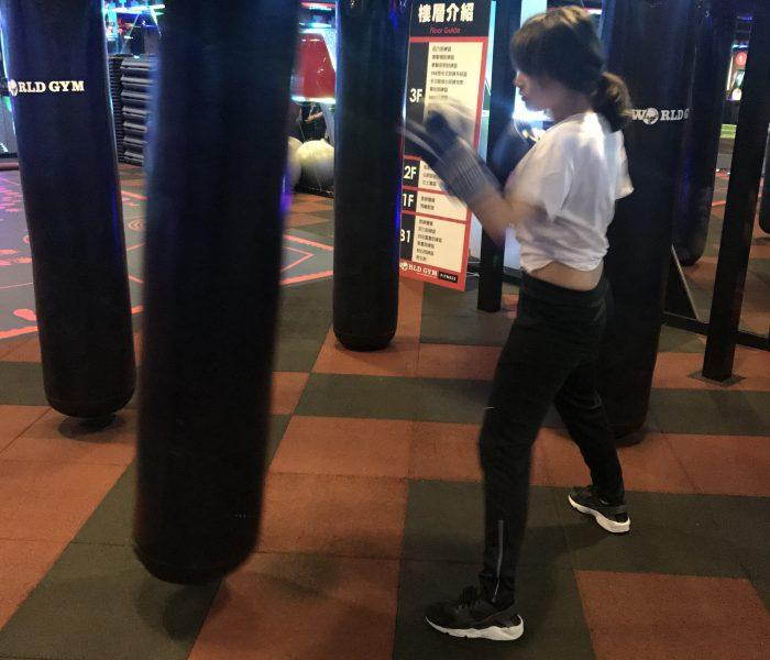 拳擊勾拳練習