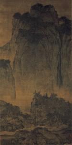 Fan_Kuan_-_Travelers_Among_Mountains_and_Streams_-_Google_Art_Project