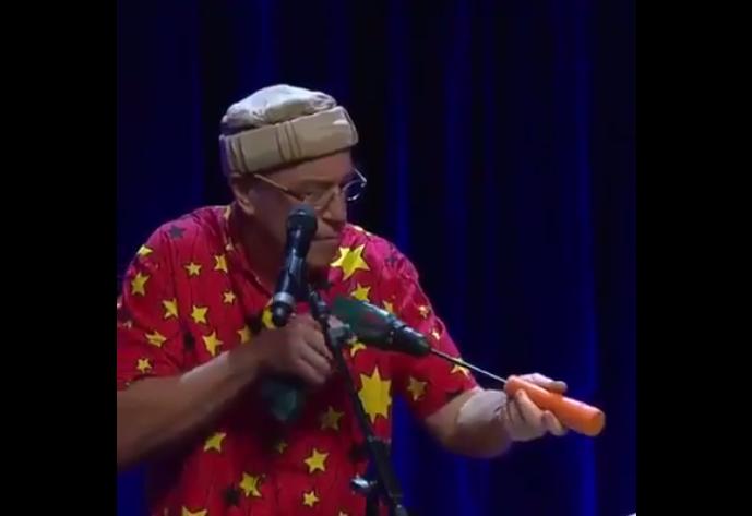 紅蘿蔔也能拿來作樂器