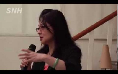 20121030童中白校園巡迴講座—清華學院