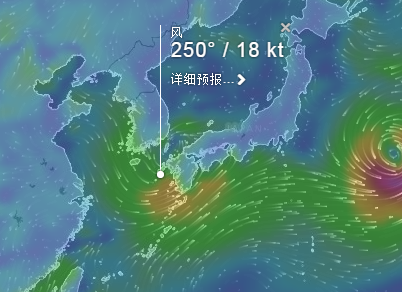Windyty, wind forecast——全球风向一手掌握