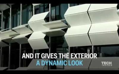 每小時會改變外觀的建築物