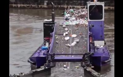 河川垃圾回收
