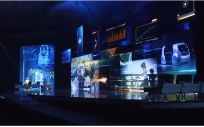 「未來投資倡議高峰會」的開幕影片